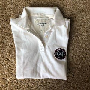 Abercrombie & Fitch Polo Shirt $58 XS White